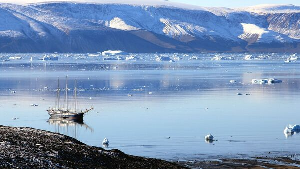 Lago en Groenlandia - Sputnik Mundo