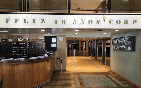 Interior del Hotel Bauen en Buenos Aires - Sputnik Mundo