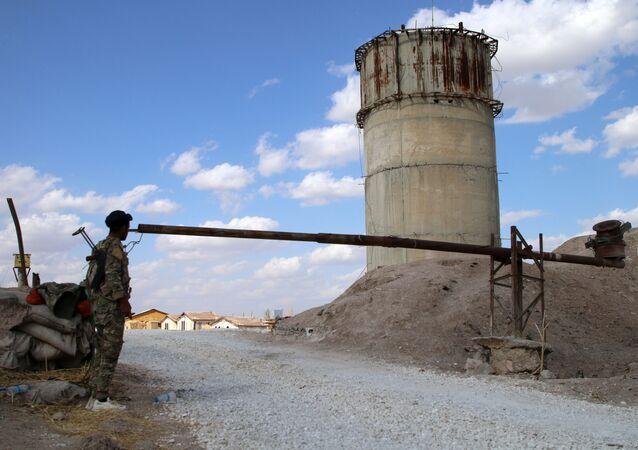 Una base militar estadounidense en Siria (archivo)