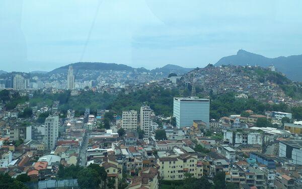 Vista desde la 'Rio Star', la noria más grande de Latinoamérica  - Sputnik Mundo
