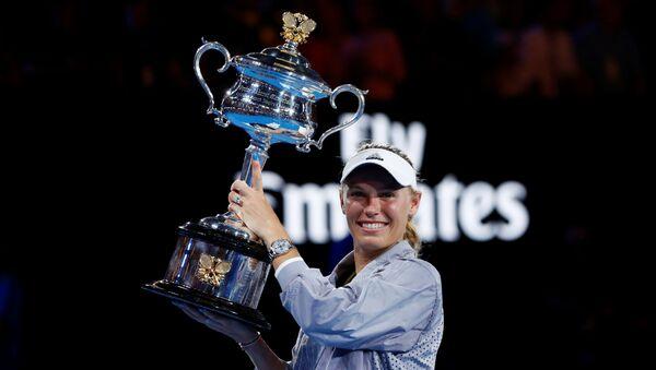 La ex primera raqueta del mundo, Carolina Wozniacki - Sputnik Mundo