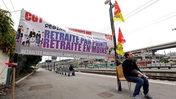 Protestas en Francia  - Sputnik Mundo