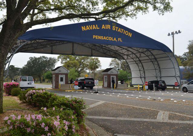 La base de la Marina de EEUU en Florida