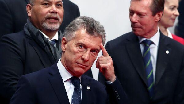 Mauricio Macri durante la Conferencia por el Cambio Climático en Madrid, España - Sputnik Mundo