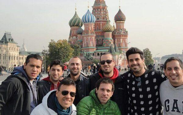 Integrantes de Agarrate Catalina en Moscú - Sputnik Mundo