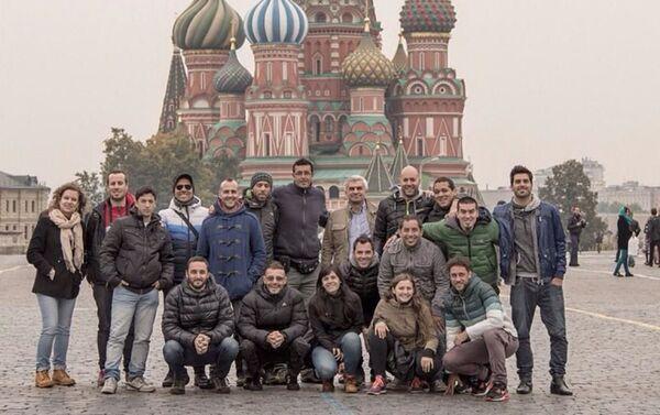 Agarrate Catalina en la Plaza Roja de Moscú - Sputnik Mundo