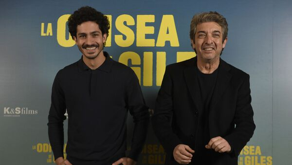 Chino Darín y Ricardo Darín, actores argentinos - Sputnik Mundo