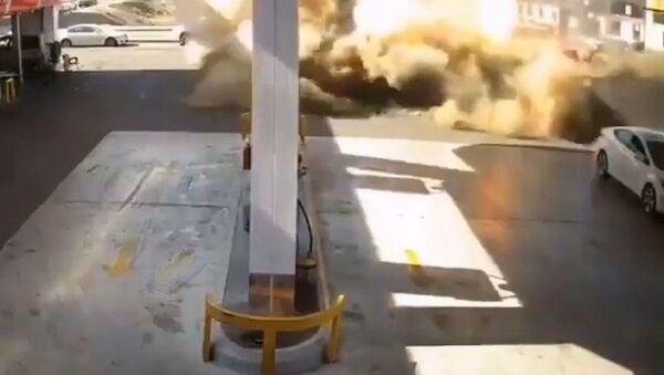 Una explosión en Arabia Saudí - Sputnik Mundo