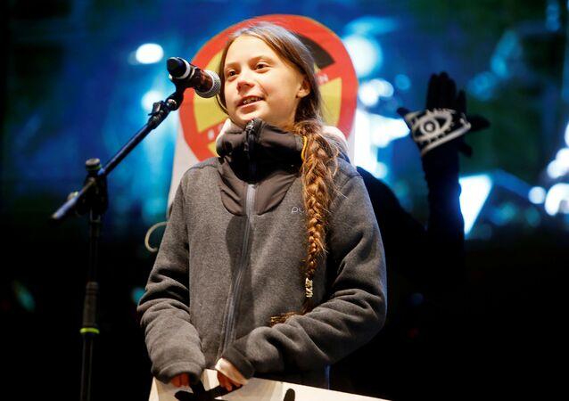Greta Thunberg, activista medioambiental sueca