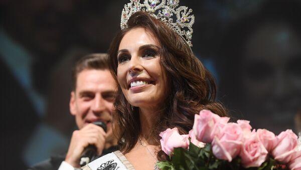 Ksenia Krivkó, la vencedora del certamén Mrs Globe 2020 (archivo) - Sputnik Mundo