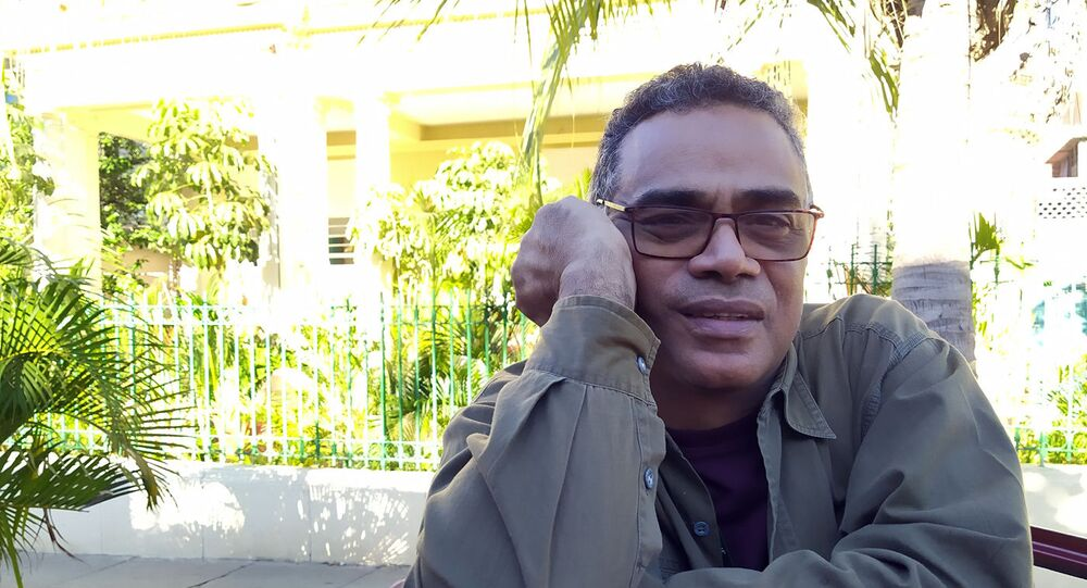 Jorge Luis Sánchez, director cubano