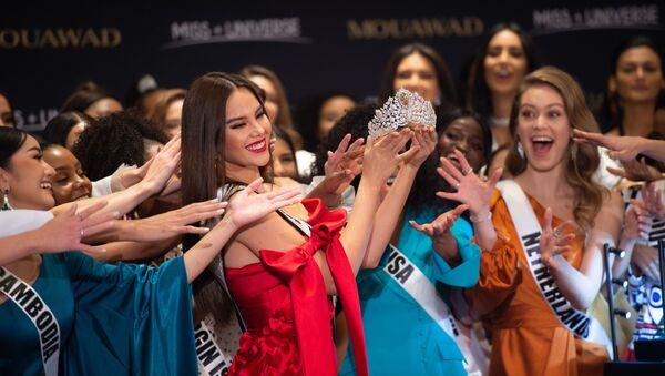 Las concursantes a Miss Universo 2019 en Atlanta, EEUU - Sputnik Mundo