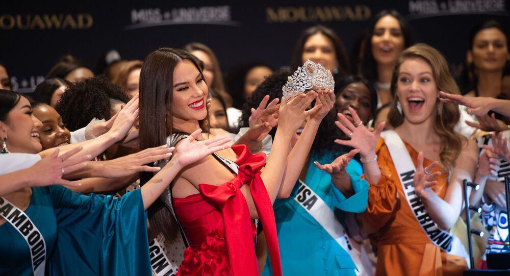 Las concursantes a Miss Universo 2019 en Atlanta, EEUU