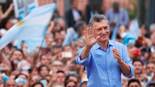 Mauricio Macri, presidente saliente de Argentina - Sputnik Mundo