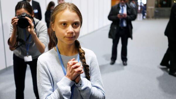 Greta Thunberg, la activista medioambiental sueca  - Sputnik Mundo