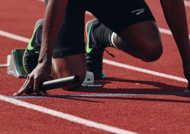 Una atleta (imagen referencial)