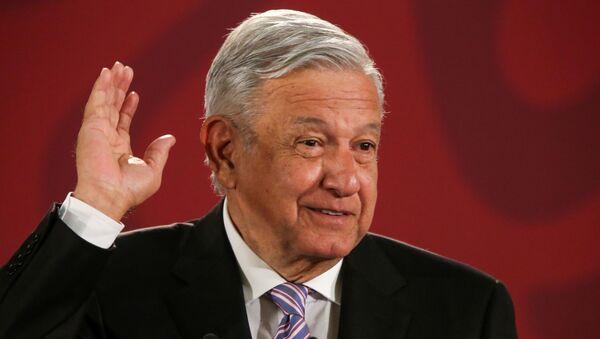 Andrés Manuel López Obrador, el presidente de México - Sputnik Mundo