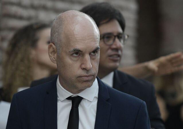 Horacio Rodríguez Larreta, jefe de Gobierno de la ciudad de Buenos Aires, Argentina