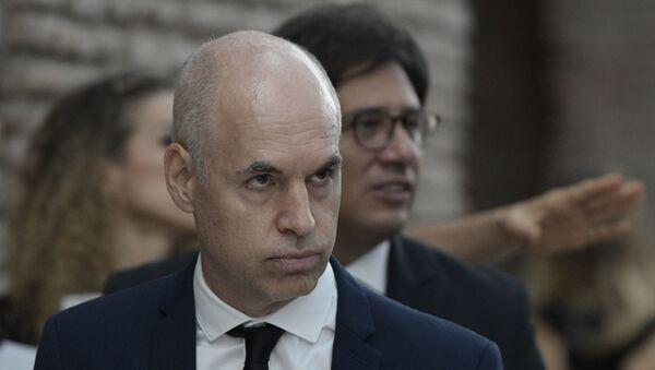Horacio Rodríguez Larreta, jefe de Gobierno de la ciudad de Buenos Aires, Argentina - Sputnik Mundo