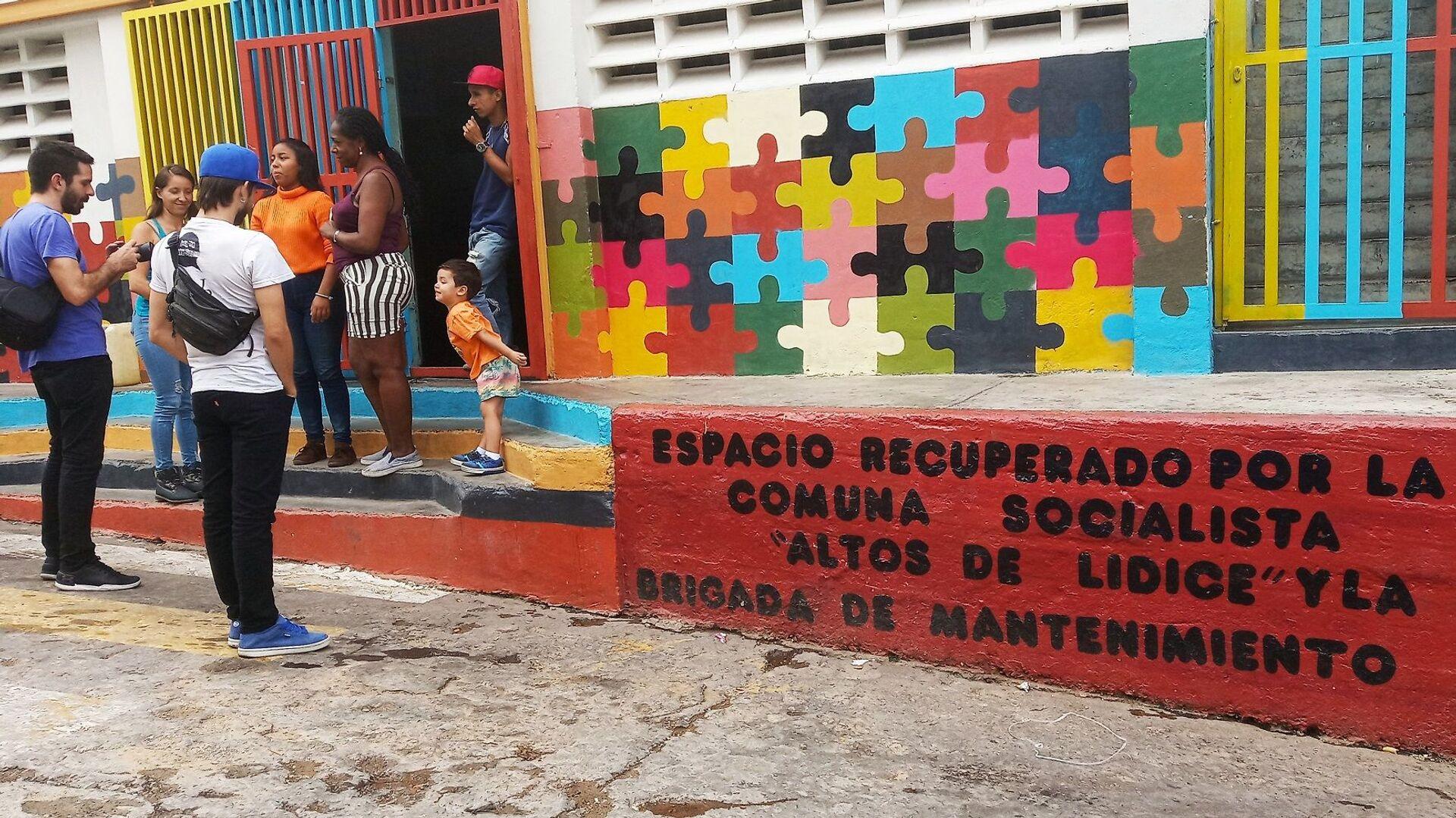 Espacio recuperado por la Comuna Socialista Altos de Lídice, Caracas, Venezuela - Sputnik Mundo, 1920, 21.07.2021