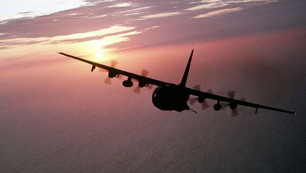 Un avión Hercules (imagen referencial) - Sputnik Mundo