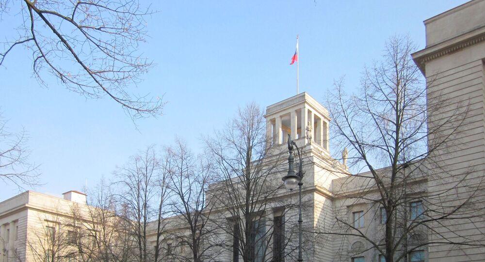 Embajada de Rusia en Berlín, Alemania
