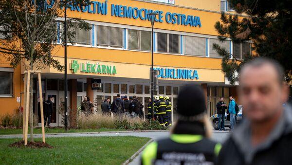 Hospital de Ostrava, Chequia, donde se produjo el tiroteo - Sputnik Mundo