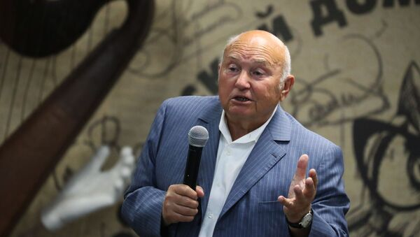 Yuri Luzhkov, exalcalde de Moscú - Sputnik Mundo