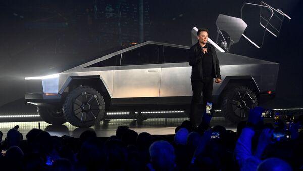Tesla Cybertruck - Sputnik Mundo