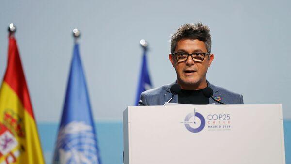 Alejandro Sanz, cantante español - Sputnik Mundo