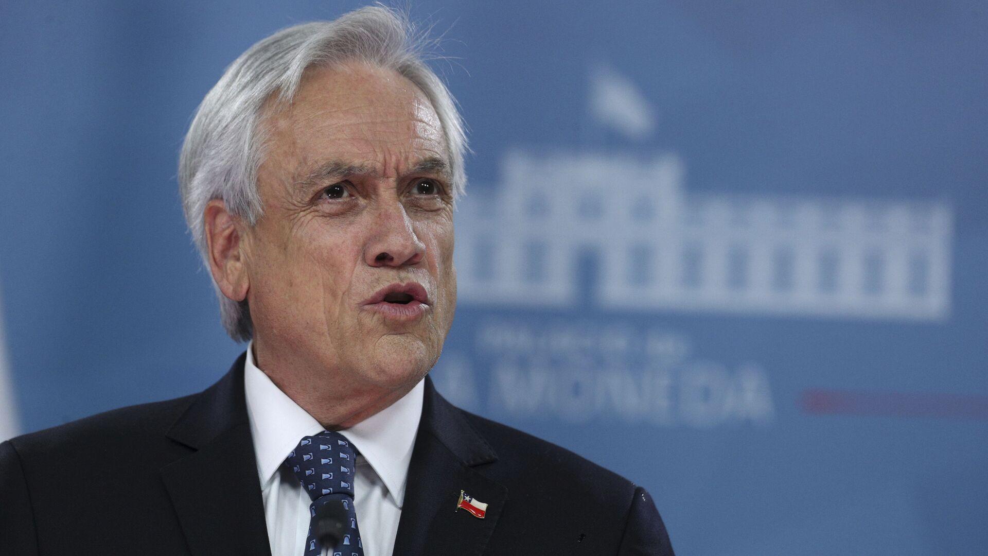 Sebastián Piñera, presidente de Chile - Sputnik Mundo, 1920, 17.08.2021