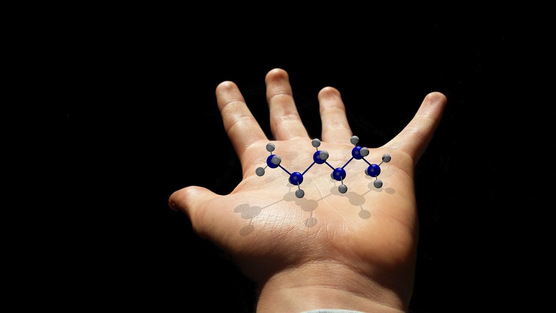 Una molécula (imagen referencial) - Sputnik Mundo, 1920, 23.05.2021