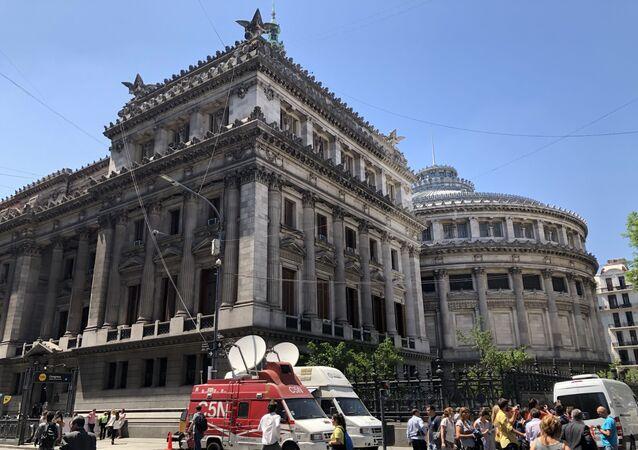Sede del Congreso de la Nación de Argentina
