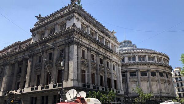 Sede del Congreso de la Nación de Argentina, el día de la asunción de Alberto Fernández - Sputnik Mundo