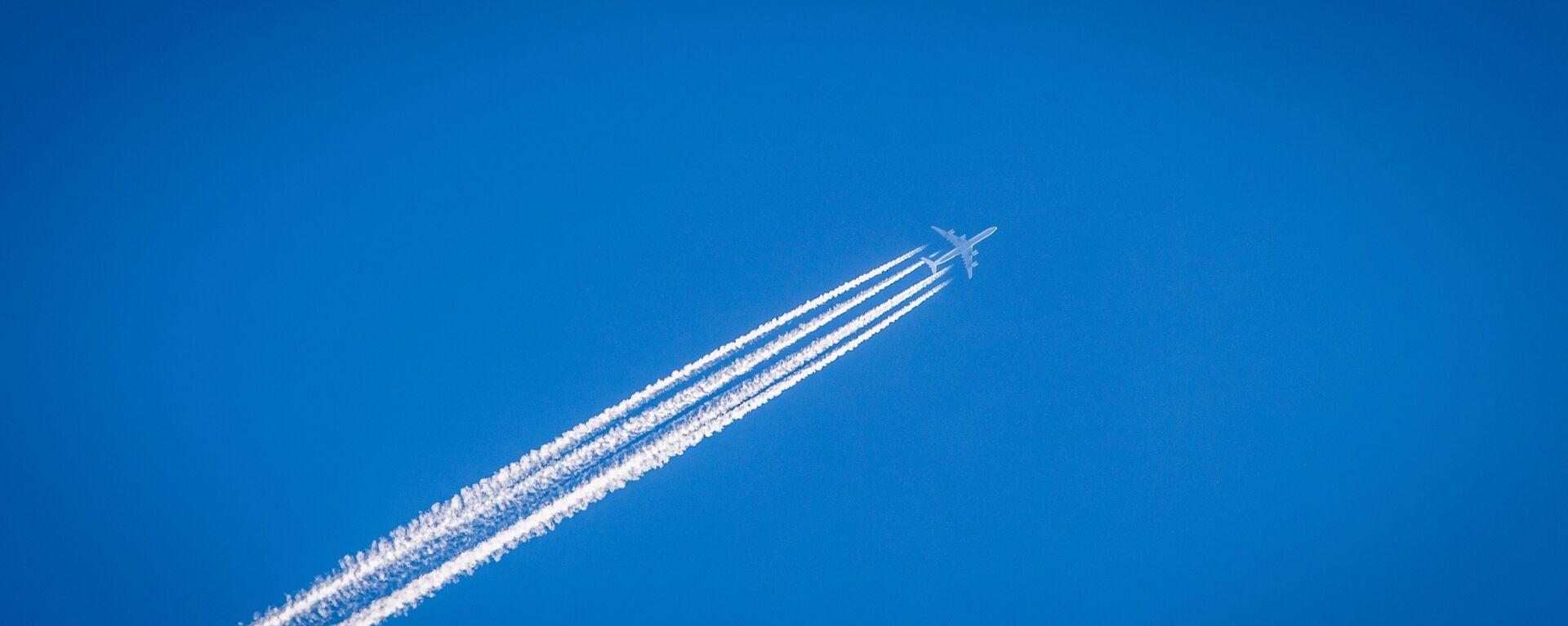 Un avión (imagen referencial) - Sputnik Mundo, 1920, 07.04.2021