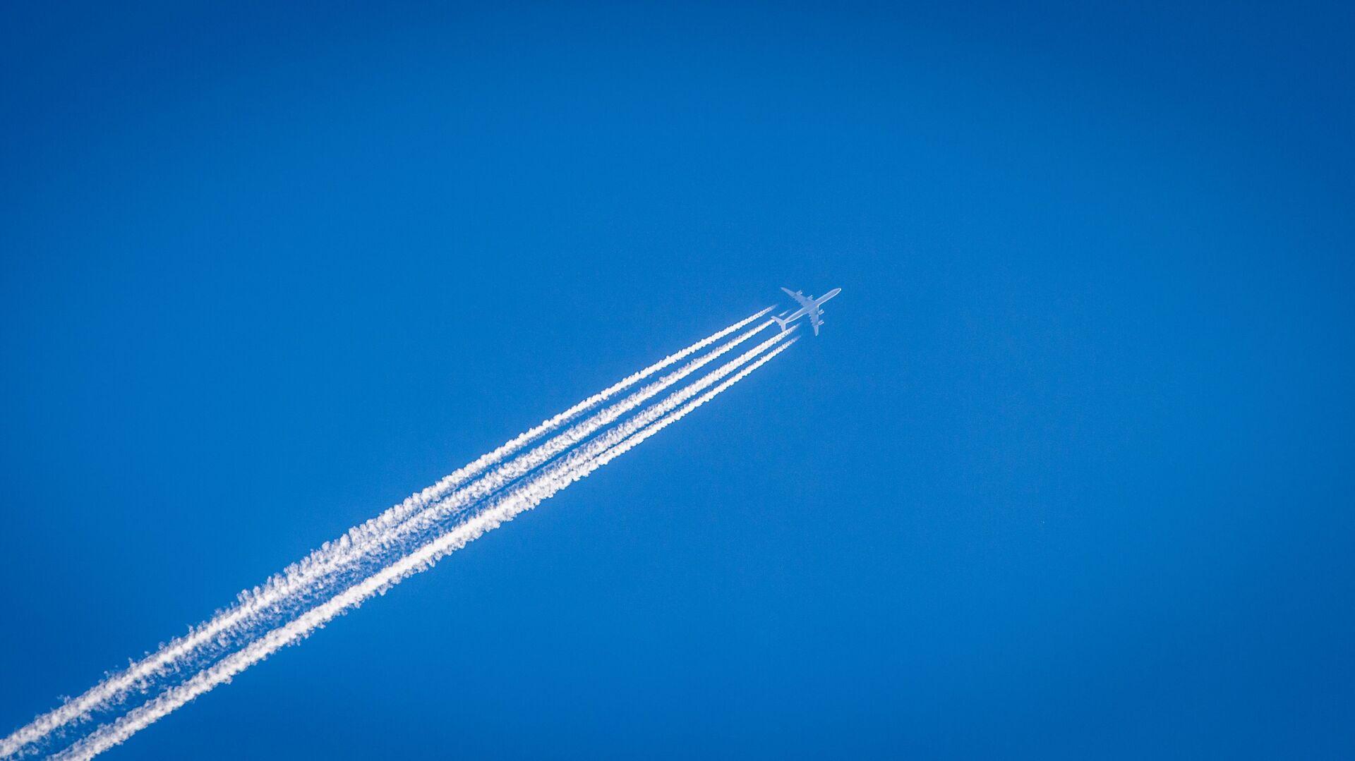 Un avión (imagen referencial) - Sputnik Mundo, 1920, 03.05.2021