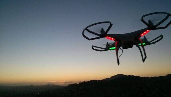 Un dron, imagen referencial - Sputnik Mundo