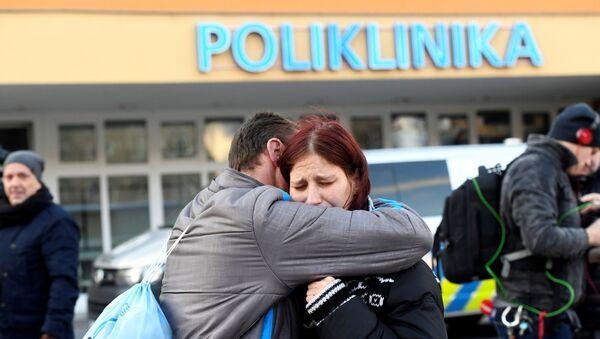 El hospital en la ciudad checa de Ostrava donde se produjo un tiroteo  - Sputnik Mundo