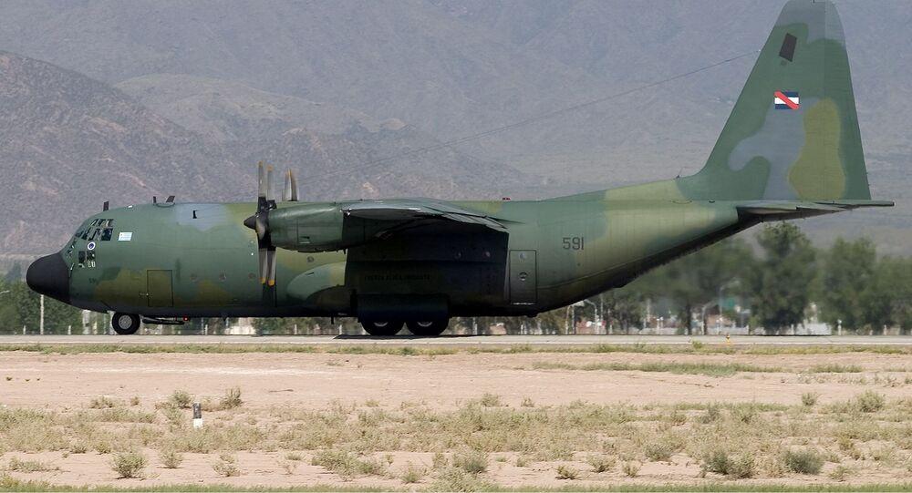 C-130B Hercules de la Fuerza Aérea Uruguaya