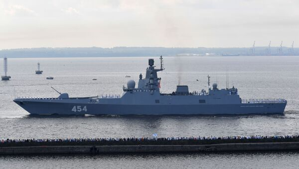 La fragata rusa Almirante Gorshkov - Sputnik Mundo