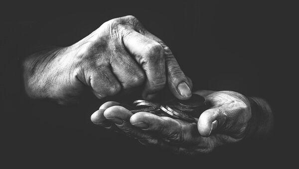 Pobreza (imagen referencial) - Sputnik Mundo
