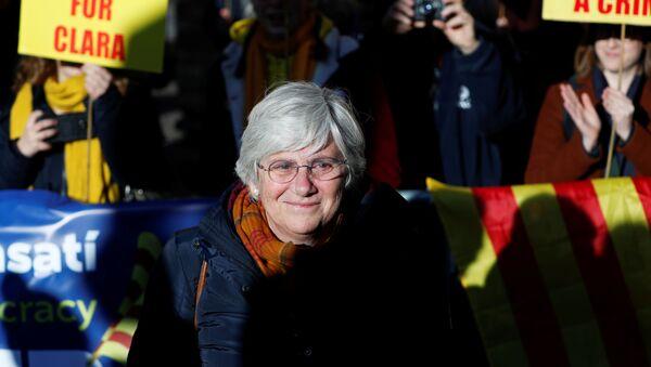 Clara Ponsatí, la exconsejera catalana - Sputnik Mundo