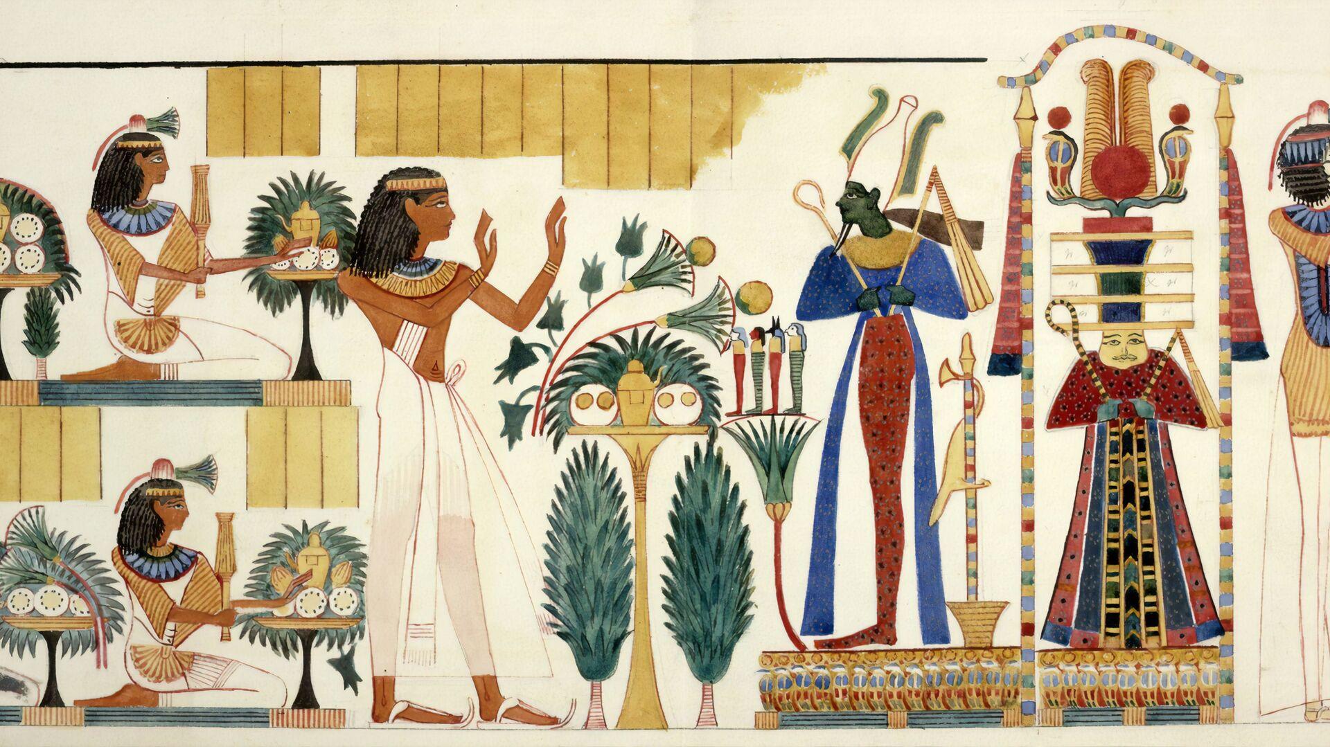 Conos en el Antiguo Egipto, imagen ilustrativa - Sputnik Mundo, 1920, 23.03.2021