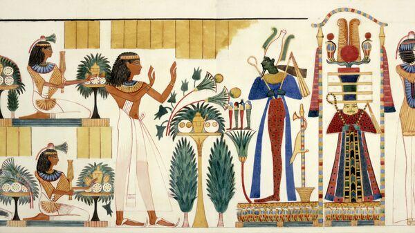 Conos en el Antiguo Egipto, imagen ilustrativa - Sputnik Mundo