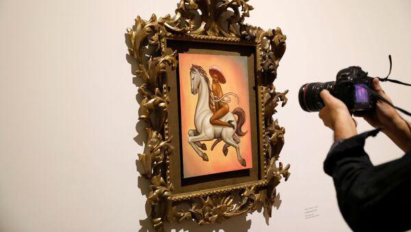 La pintura que retrata a Emiliano Zapata desnudo y con tacones - Sputnik Mundo