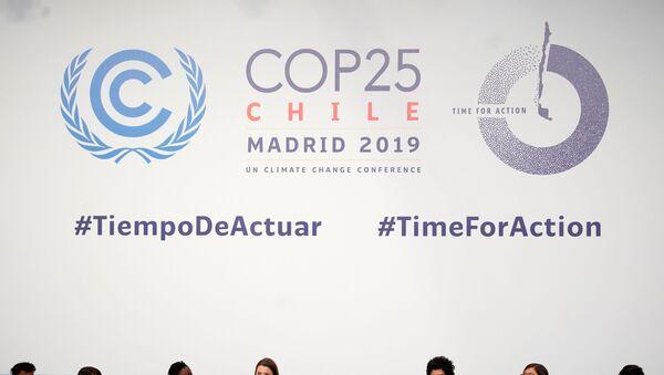 La cumbre del clima en Madrid - Sputnik Mundo