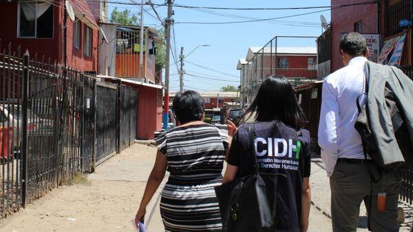 Visita de CIDH a la población de Lo Hermida, el 20 noviembre de 2019 - Sputnik Mundo