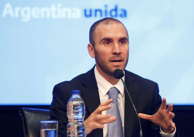 Martín Guzmán, ministro de Economía argentino