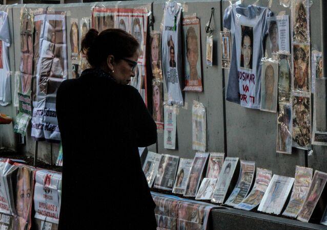 Familiares de los desaparecidos protestan en Ciudad de México (Archivo)