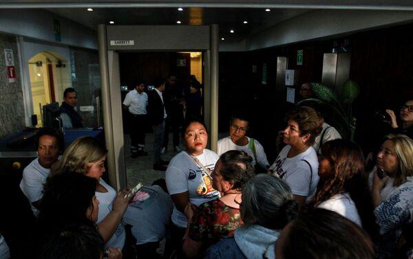 Familiares de los desaparecidos protestan en Ciudad en México - Sputnik Mundo
